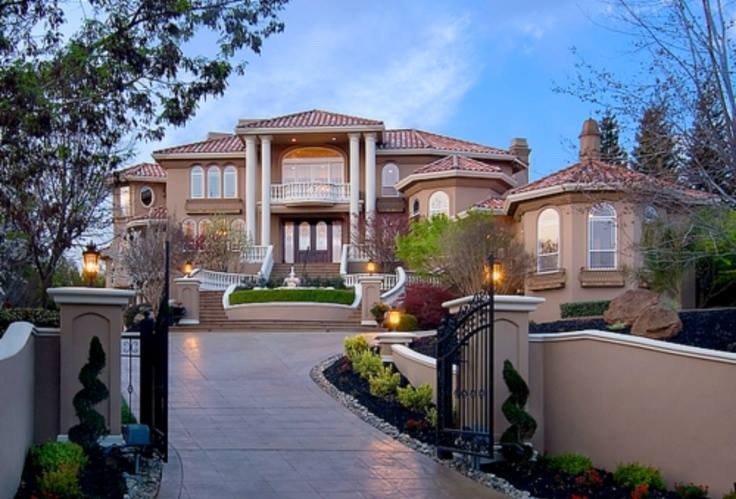 My Dream House Must Be Simple Elegant And Awesome Everyone Who Looking Shocked With The Beautiful Garden In Front Of